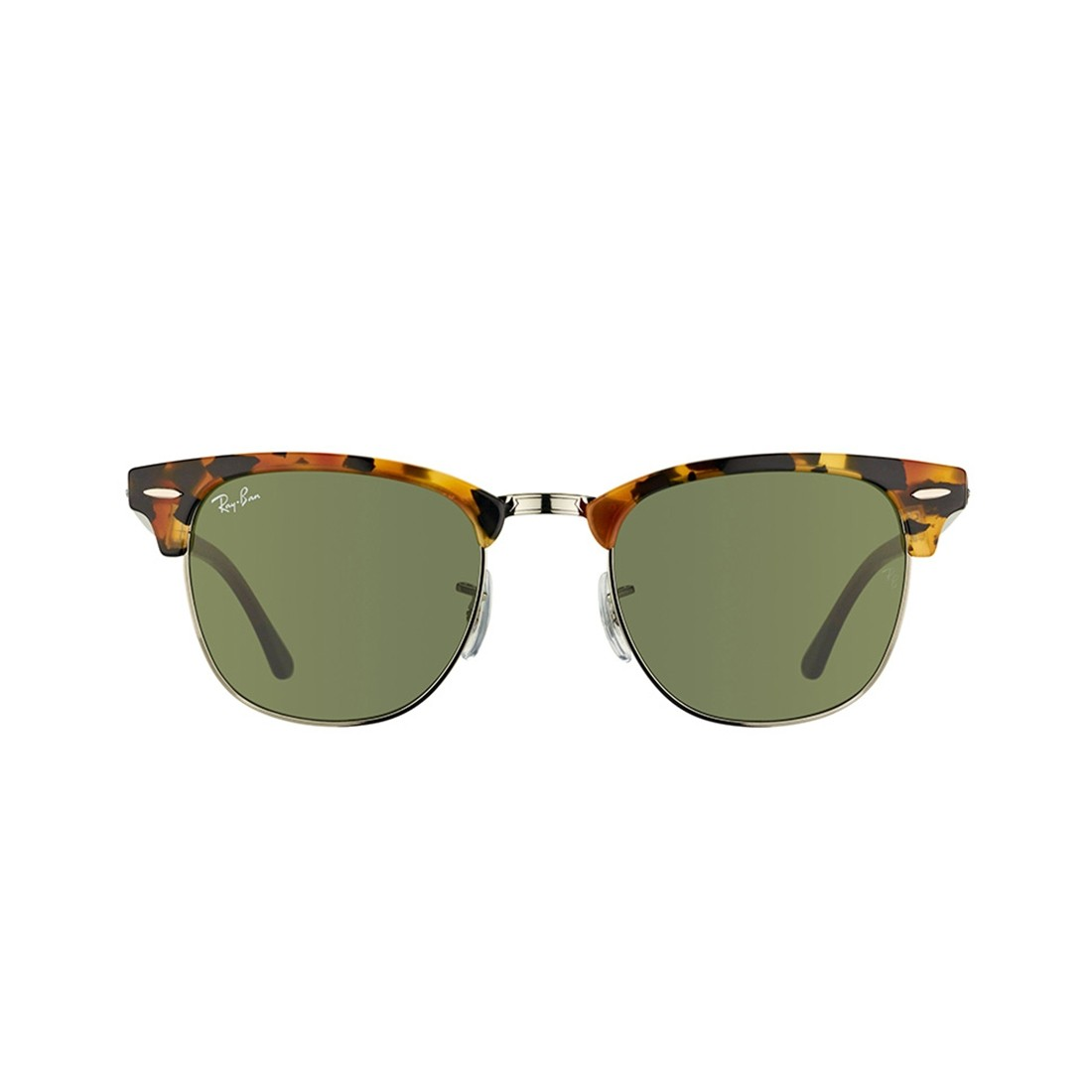 Ray Ban Clubmaster RB 3016 Óculos de Sol - 51 - Tartaruga