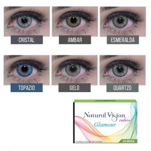Lentes de Contato Natural Vision Colors Glamour