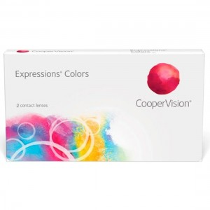 Lentes de contato coloridas Expressions Colors - Sem grau