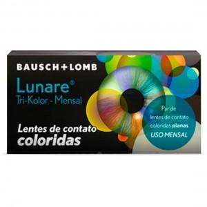 Lentes de contato coloridas Lunare Tri-Kolor mensal - Sem grau