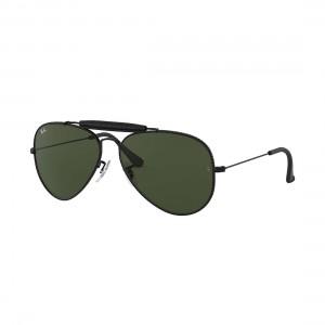 Ray Ban Aviator Craft RB 3422Q Óculos de Sol - 58 - Preto