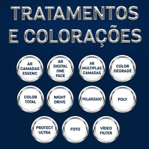 Tratamentos e Colorações